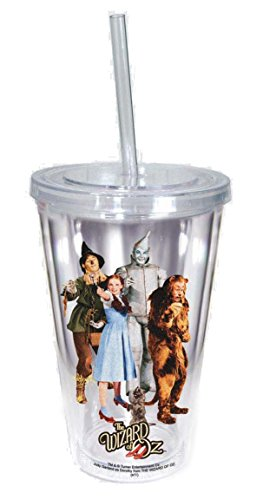 Spoontiques Wizard of Oz Cup with Straw, ()