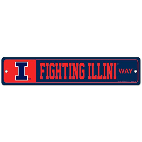 Wincraft Illinois Fighting Illini NCAA Street Sign - Team - Illini Fighting Dorm Illinois