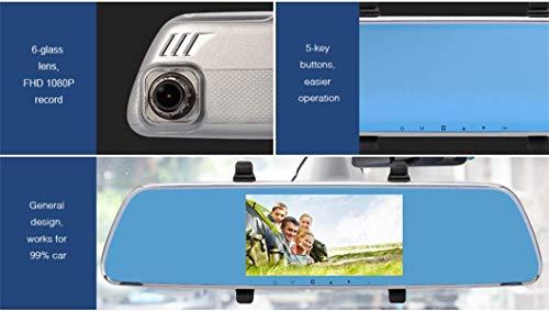 Dreamyth V25 1080P HD1.3MP Webcam Car DVR Dual Lens Cameras Vehicle Rear Video Recorder,,American Warehouse Shippment by Dreamyth (Image #4)