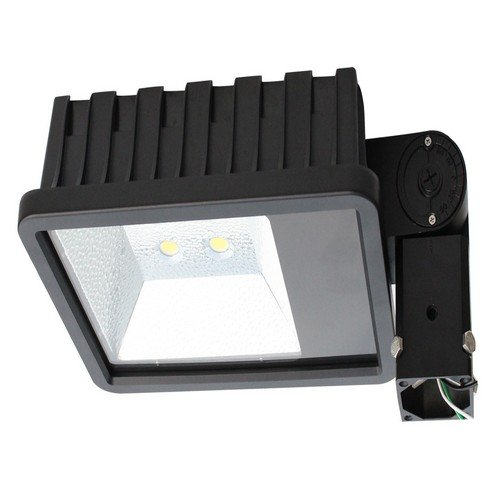 Morris 71381 LED Power Floodlight with Slipfitter, 120W, 10321 lm