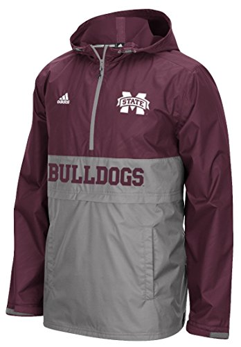 - Mississippi State Bulldogs Adidas Shock Energy Sideline 1/4 Zip Climalite Jacket