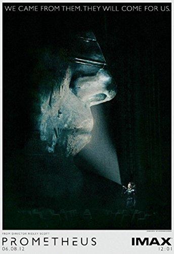 Prometheus 2012 S/S Advance Movie Poster 13.5x20