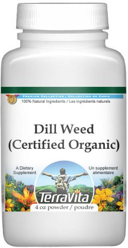 Dill Weed (Certified Organic) Powder (4 oz, ZIN: 517644)