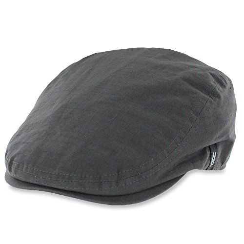 Belfry Street Tonic Lightweight Cotton Ripstop Ivy Cap in 3 Colors (Large, Grey) (Best Irish Pubs In Boston)
