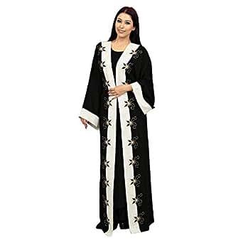 Farah Multi Color Casual Abaya For Women