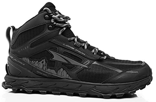 Altra Women's Lone Peak 4 Mid Mesh Trail Running Shoe, Black - 7.5 B(M) US by Altra (Image #1)