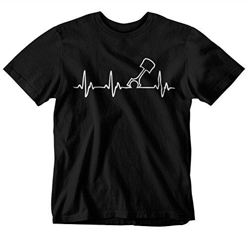 Turbo Piston - STYLN Heart Beat Piston T-Shirt (X-Large)