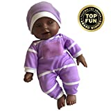 11 inch Soft Body Doll in Gift Box - Award Winner & Toy 11' Baby Doll (African American)