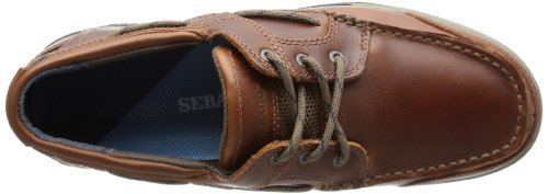 Sebago TRITON THREE-EYE - Oxford de cuero hombre multicolor - Mehrfarbig (BRN OILED/DK BRN)