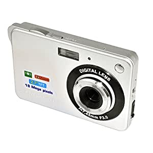 KINGEAR PL015 2.7inch 18MP Mini Digital Camera 8x Digital Zoom Silver Color