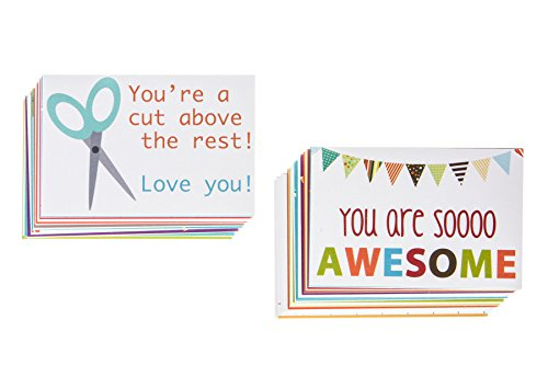 Designer Lunchbox Notes - 2 Packs of 27 Cards