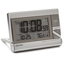 Seiko QHR024SLH Classic Digital Travel Clock