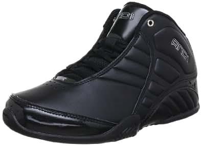 AND1 Men's Rocket 3.0 Shoe, black/black/silver, 10 Medium US