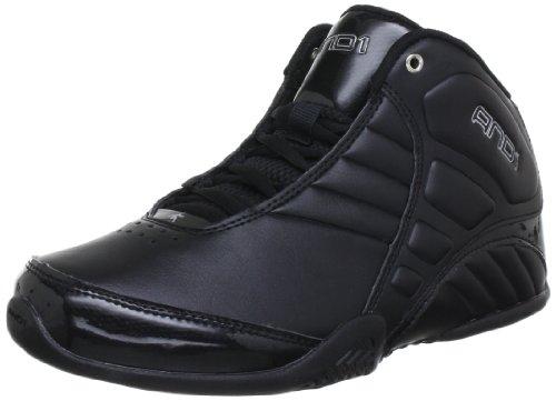 Image of AND1 Men's Rocket 3.0 Shoe, black/black/silver, 10 Medium US
