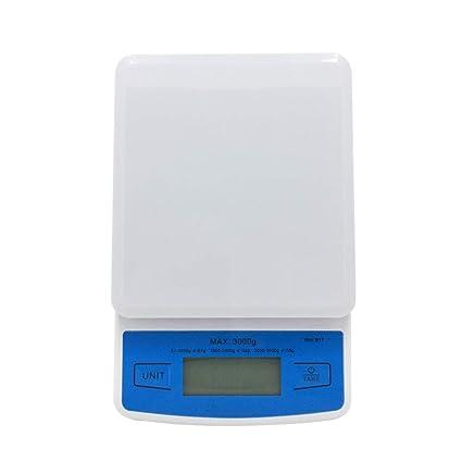 Balanzas Electrónicas De Cocina Escalas Digitales Comida Hierbas Gramo Peso Que Pesa 0.1G Hornear Condimento
