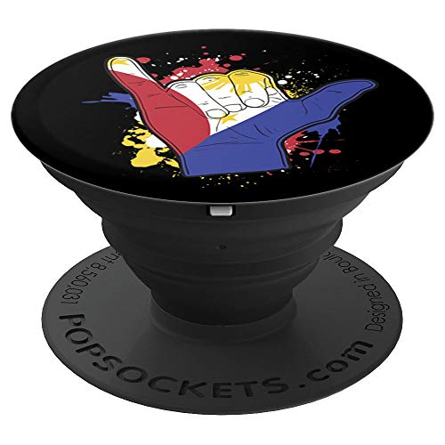 Filipino Pride Design Pinoy philippines Shaka sign - PopSockets Grip and Stand for Phones and Tablets