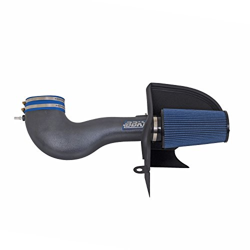 BBK 17365 Cold Air Intake System - Power Plus Series Performance Kit for Ford Mustang GT - Charcoal Metallic Powdercoat (Mustang Gt Dyno)