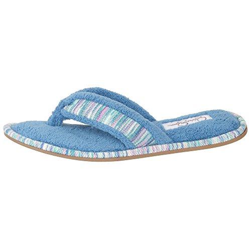 Zapatillas De Interior Jessica Simpson Cosy Thong Spa Flip Flop Para Mujer