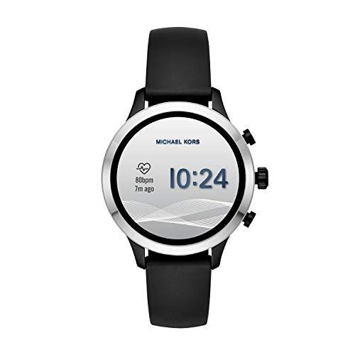 Michael Kors kvinnors smartklocka med silikonrem MKT5049