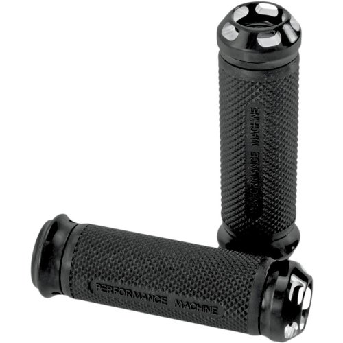 Performance Machine Apex Electronic Throttle Contrast Cut Handlebar Grip Set