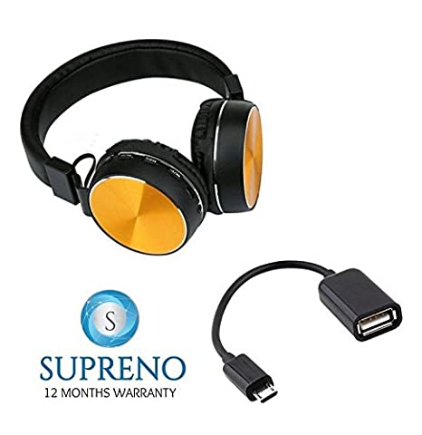 Supreno MDRXB750 Wireless Bluetooth MP3 Over The Ear: Amazon