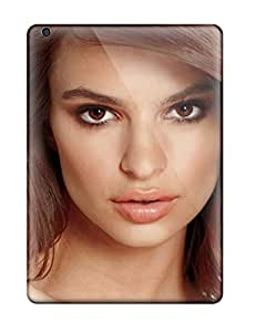 New Style 4636693K51774616 Case Cover Protector For Ipad Air Emily Ratajkowski Case