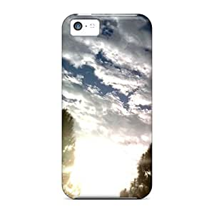 For Iphone 5c Phone Cases Covers(light Shinning Throu)