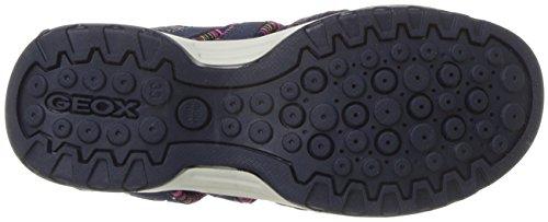 Pictures of Geox Borealis Girl 8 Sandal Navy/Fuchsia J820WA050EEC4268 6