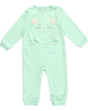 Graphic Romper (Baby) - Mint-18 Months