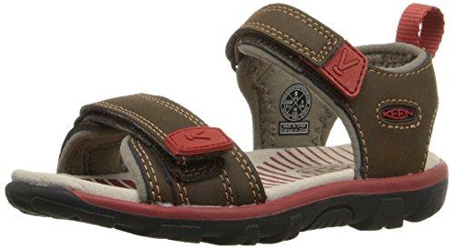 KEEN Riley II Shoe (Toddler/Little Kid), Cascade Brown/Bossa Nova, 13