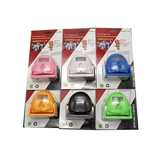 - Gate Entry Visitor Welcome Motion Sensor Detector Door Bell Chime Alert Alarm (TH-5301) 5 Colors Available