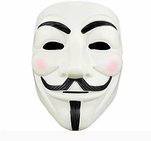 Amazon Com Adorox 1 Mask V For Vendetta White Costume Face Mask