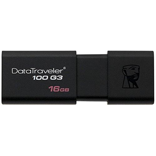 Kingston Digital 16GB 100 G3 USB 3.0 DataTraveler (DT100G3/16GB)