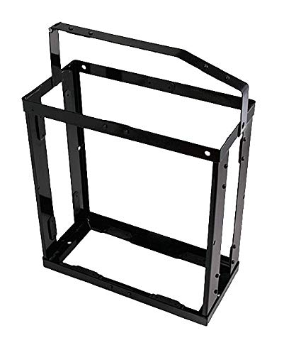 Gas Can Holder, Black, 19-1/2 in. L by Wavian