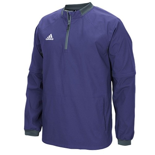adidas Mens Fielder's Choice Convertible Jacket, Collegiate Purple/Onix Grey, X-Small by adidas