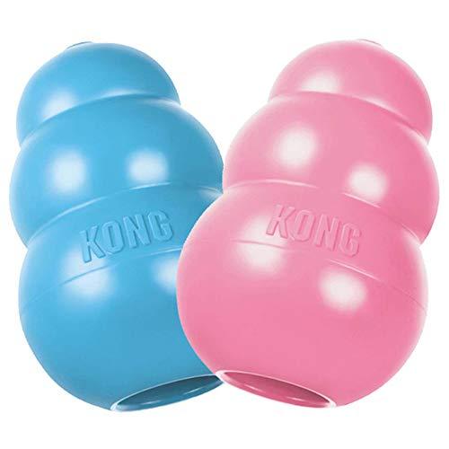 Kong Puppy Hundespielzeug, Naturkautschuk, Farblich Sortiert