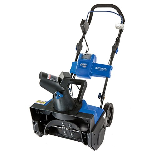 iON 40-Volt Cordless 18'' Single Stage Brushless Snow Blower by Snow Joe