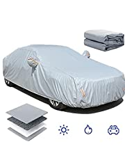 Special Car Cover for Peugeot Sedan Series All Weather Waterproof Dustproof and Anti UV Multi-Function Outdoor Vehicle Cover,