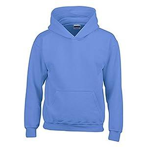 Gildan Hooded Pullover Sweat Shirt Heavy Blend - Carolina Blue 18500B L