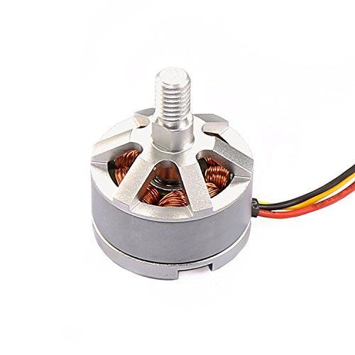 Bugs 2 Counter Clockwise Brushless Motor - Genuine Force1 CCW Brushless Motor for MJX Bugs 2W Bugs 2C F200W Shadow and F200C Specter Quadcopter Drone (Silver)