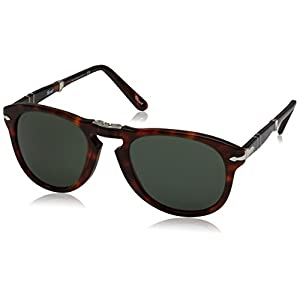 Persol Men's Havana Classic Sunglasses
