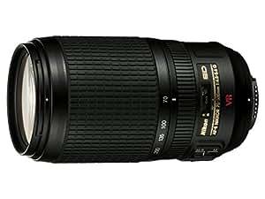 Nikon AF-S VR 70-300mm F4.5-5.6 G - Objetivo para Nikon (distancia focal 70-300mm, apertura f/4,5, estabilizador de imagen) color negro