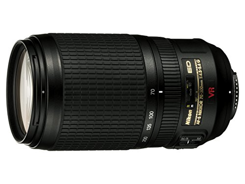 Nikon 70-300mm f/4.5-5.6G ED IF AF-S VR Nikkor Zoom Lens for Nikon Digital SLR Cameras