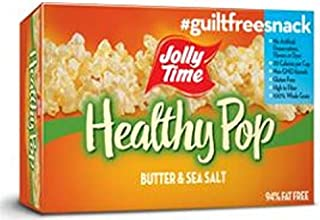 product image for Jolly Time Healthy Pop Butter & Sea Salt Popcorn 36 Bags WW 3 Points