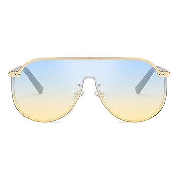 CCTYJ Gafas de Sol Gafas de Sol de protección Lateral de una ...