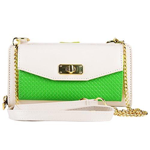 Vangoddy Women's Bag Zip Wallet Clutch [Credit Card Slots] [Organizer] [Strap] For Kyocera Hydro, Brigadier, Torque, Rise, Presto, Milano....