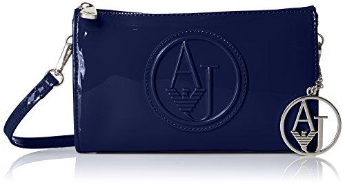Armani Jeans Eco Patent Crossbody Clutch