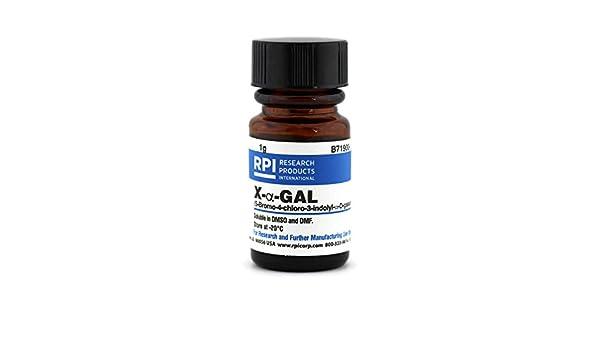 x-a-gal [5-bromo-4-chloro-3-indolyl-a-d-galactoside], 1 g ...