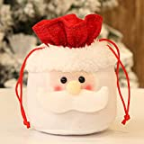 Clearance Tuscom Christmas Candy Party Gift Bag,for Chocolates, Candies,Biscuits15 X 18cm Storage Packing Wrapper Supplies (A)