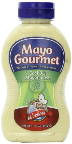 - Woebers Mayonnaise, Cool Dill, 11 Ounce